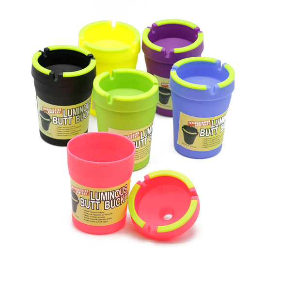 Luminous Butt Bucket Car Ashtray *Glow in the Dark*