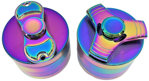 GRINDER WITH FIDGET SPINNER LID 63MM