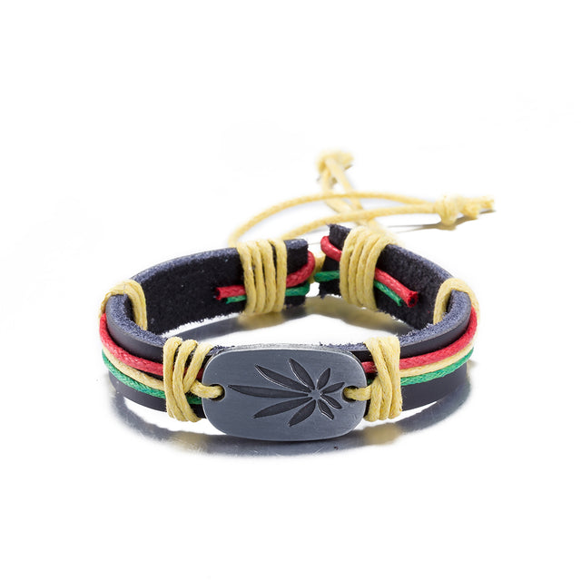 Rastafarian Adjustable Bracelet