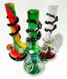 Glass-On-Glass Soft-Glass Water Pipe