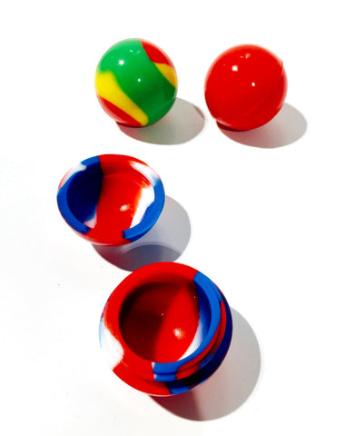 "1.25"" Silicone Ball Container"