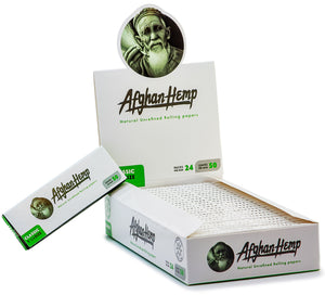 Afghan Hemp Rolling Papers 1 1/4