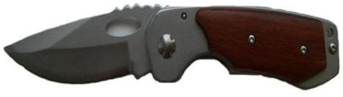 Wood Protrusion Handle Knife