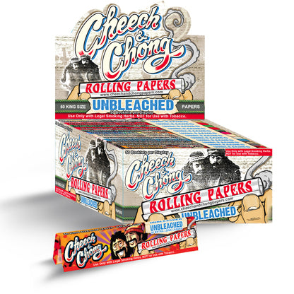 Cheech and Chong Rolling Papers - Unbleached King size