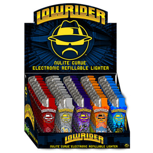 Lowrider Curve Electronic Refillable Lighters (50ct)