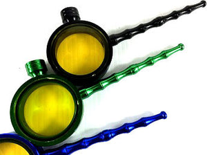 Magnifying Glass Metal Pipe