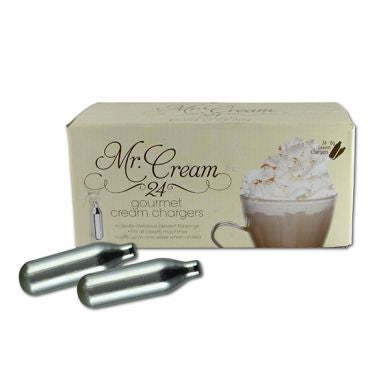 Mr. Cream Whip Cream Chargers (24 pack)