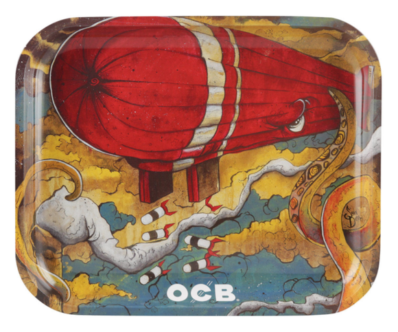 OCB Rolling Tray - Max vs. Octopus (Medium) ~Buy 1 Get 1 Free, Can Mix & Match~