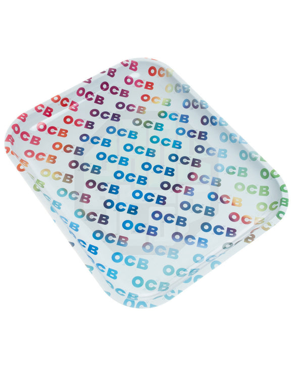OCB Rainbow Text Rolling Tray (Large) ~Buy 1 Get 1 Free, Can Mix & Match~
