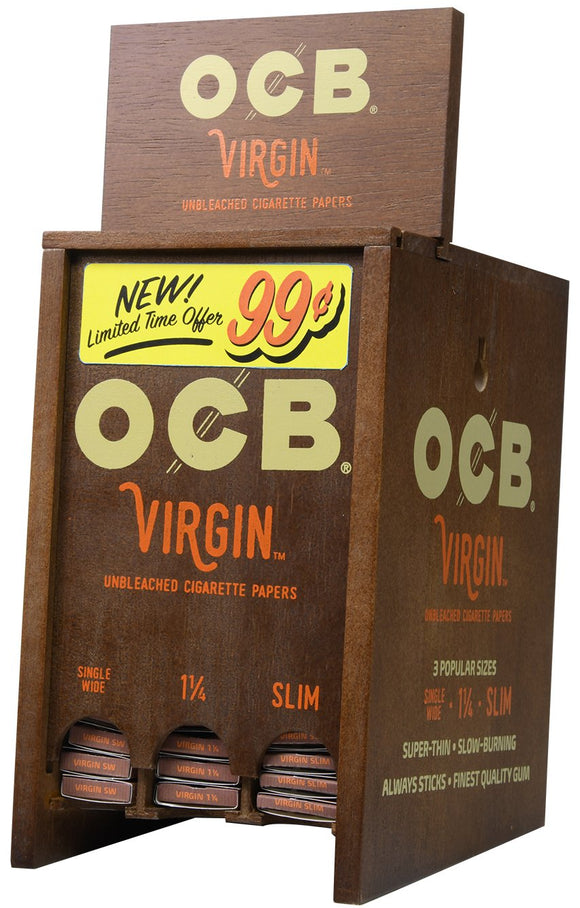 OCB Virgin Display (72ct) Pre Priced ¢.99