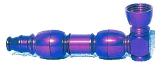 Anodized Double Chamber Metal Pipe