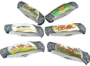 Elegant Animal Knife (12ct)