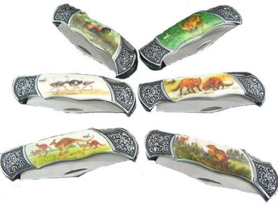 PK9828 Elegant Animal Knife (12ct)
