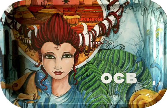 OCB OX Goddess Rolling Tray (Large) ~Buy 1 Get 1 Free, Can Mix & Match~