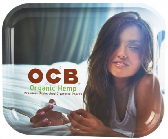 OCB Organic Lady Rolling Tray (Large) ~Buy 1 Get 1 Free, Can Mix & Match~