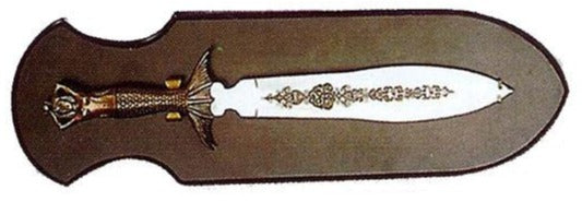 Mermaid Sword w/ Display Plaque