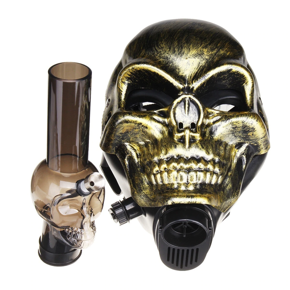 Intergalactic Skeletor Gas Mask