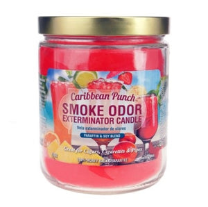 Smoke Odor Exterminator Candle 13oz Caribbean Punch
