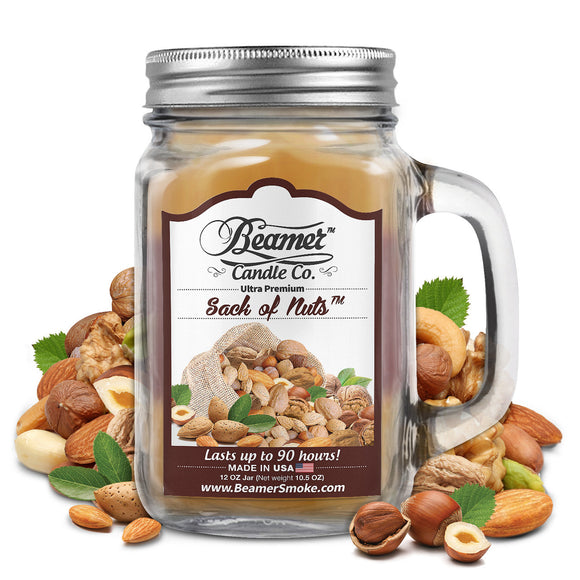 Beamer Candle Co. Sack of Nuts Scented Jar candle