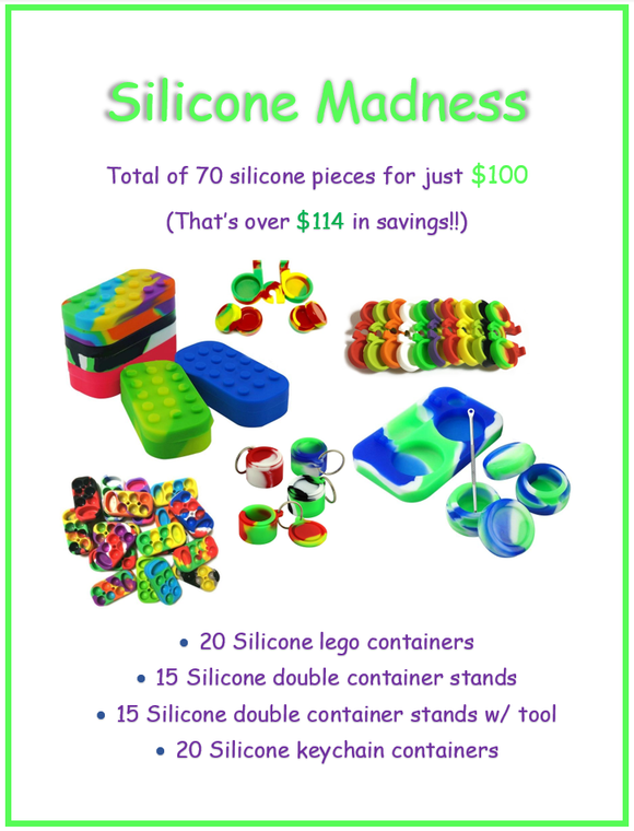 70X Silicone Products for $100