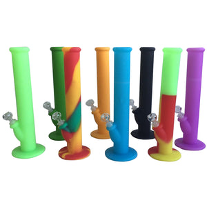 "14"" Silicone Waterpipe w/ Suction"
