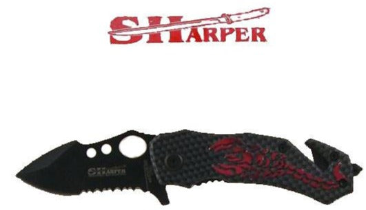 Scorpion Handle Knife