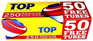 Top Tubes 250 Regular (5 Sleeves of 200ct)