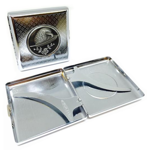 Metal Design Cigarette Case