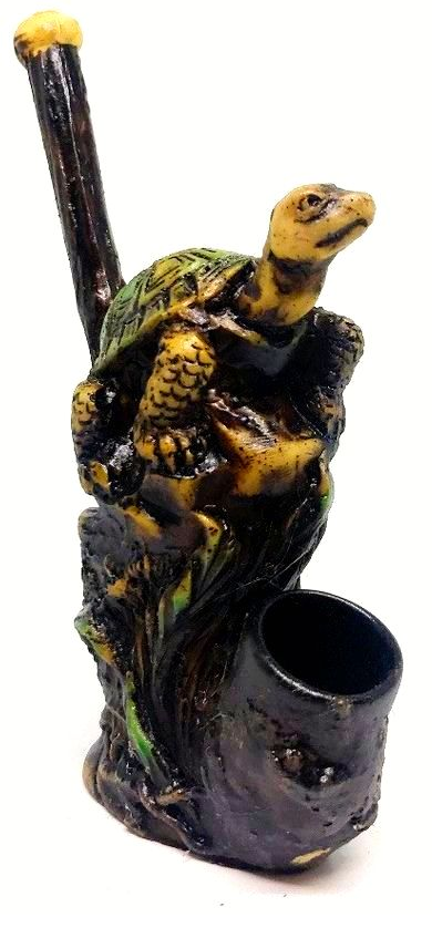Resin Pipe Turtle