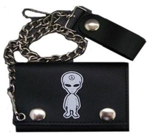 Alien Leather Wallet ***DOES NOT COME WITH CHAIN***
