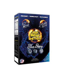 High Voltage Xtreme Flush 32oz Blueberry