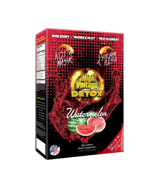 High Voltage Xtreme Flush 32oz Watermelon