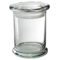 3oz Clear Airtight Jar