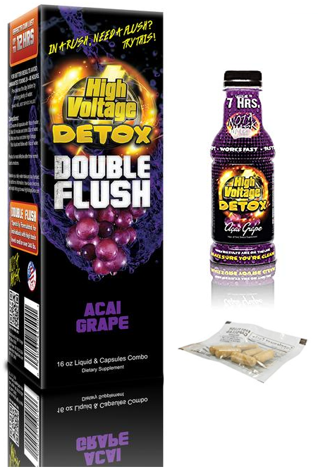 High Voltage Double Flush Acai 16oz + 6 Capsules