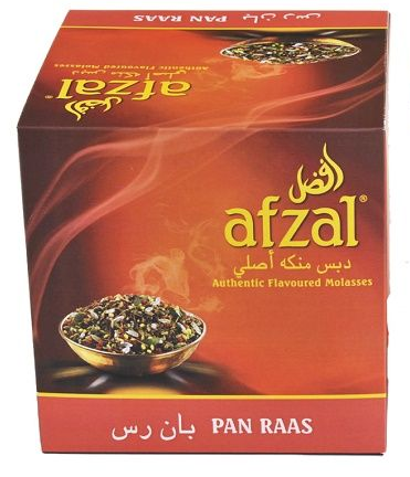 Afzal Flavored Molasses -  Pan Raas 250 Gram