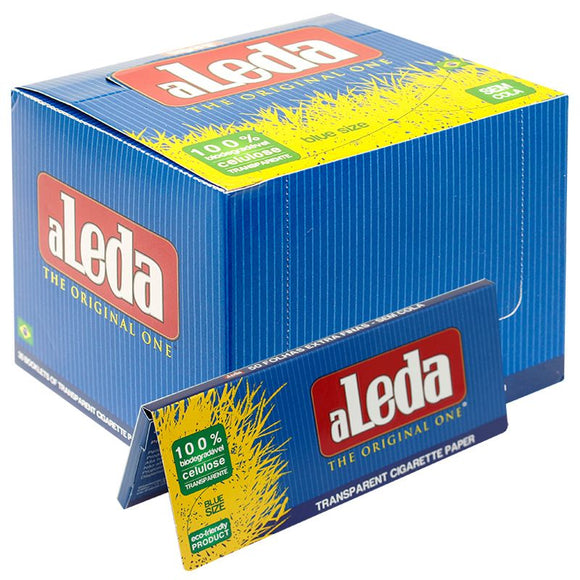 Aleda Blue Size Transparent Rolling Papers