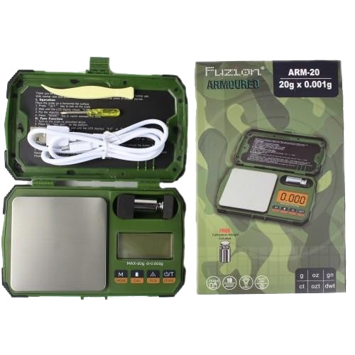 Arm-20 Armoured Fuzion .001 Gram Scale