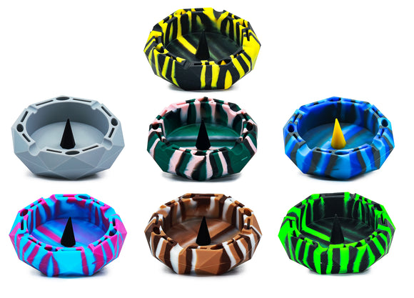 Silicone Poker Ashtray