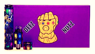 Deez Nutz 510 Threaded QDC Pen - Glove