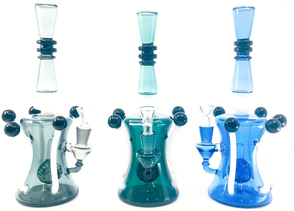 Quintuple Balls Waterpipe