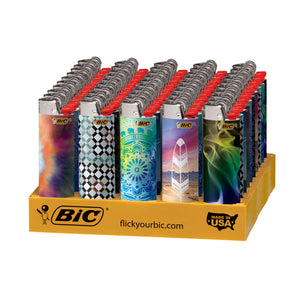 Bic Lighters Bohemian (50ct)