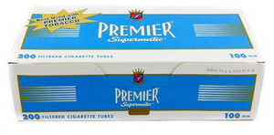 Premier Tubes Blue 100 mm (200ct)