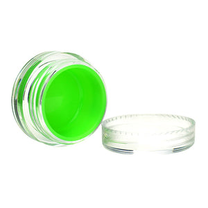 "1.5"" Plastic Screw Top Silicone Lined Container"