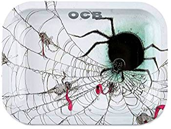 OCB Rolling Tray - Always Sticks Spider (Large) ~Buy 1 Get 1 Free, Can Mix & Match~