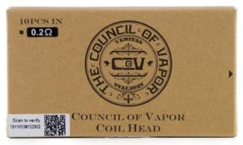 COIL COUNCIL OF VAPE