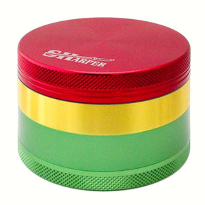 Sharper Rasta Grinder (50mm)