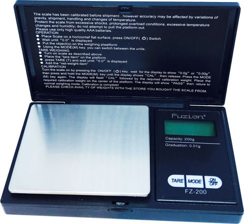 Fuzion FZ Series FZ-200 Digital Scale