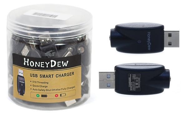 Honey Dew USB Smart Charger (Jar of 50)