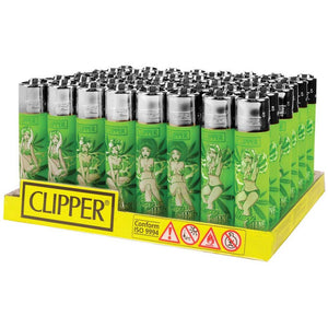 Clipper Lighter Mari Jane Pin Ups (48ct)
