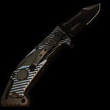 USA Black Blade Knife